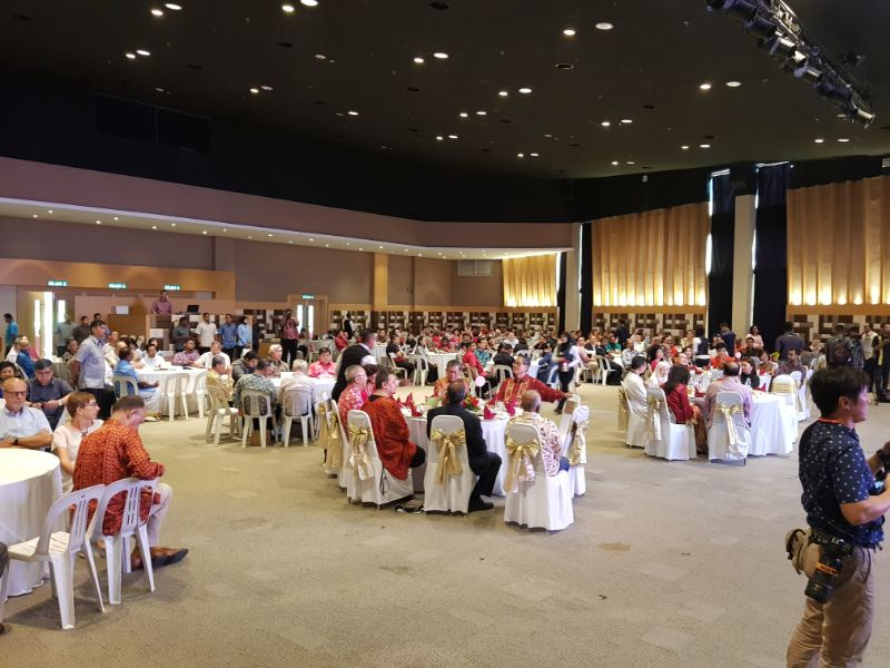 Council of Churches, Luncheon with Deputy Prime Minister and Ministers